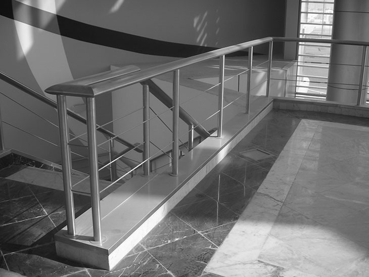 wire rope handrail-handrail for staircase-Galaxy Stainless steel ...